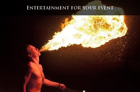 Entertainment for your event