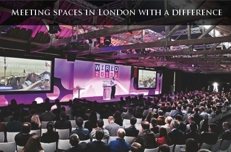 Meeting spaces in London with a difference
