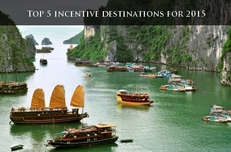 Top 5 incentive destinations for 2015
